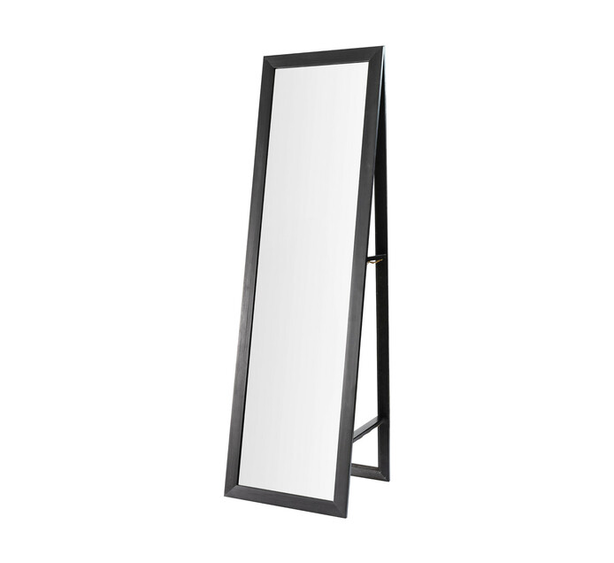 428 X 1480 Mm Framed Free Standing, Black Large Free Standing Mirror