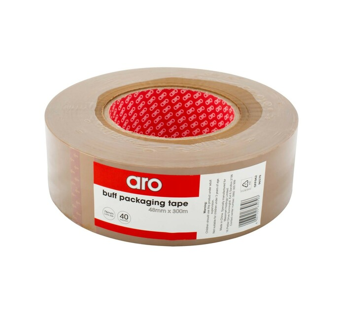 ARO Buff Packaging Tape 48 mm x 300 m