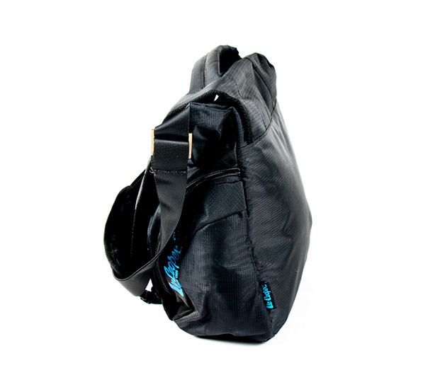 Blue And Black Laptop Sling Bag