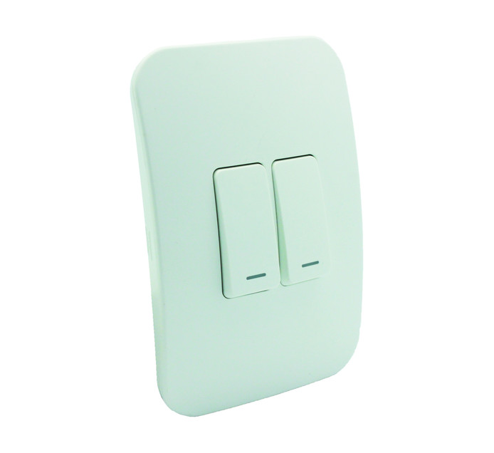Veti 100X50 Two Lever One-Way Switch with Lacator