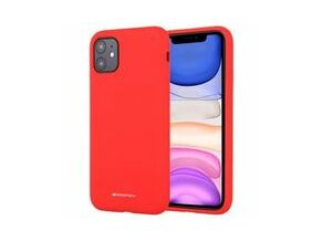Goospery Silicone TPU Cover for iPhone 11 (Red)