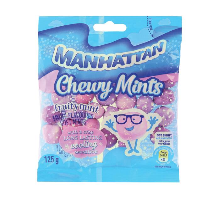MANHATTAN CHEWY SOFT MINT 125G,FRUITMINT