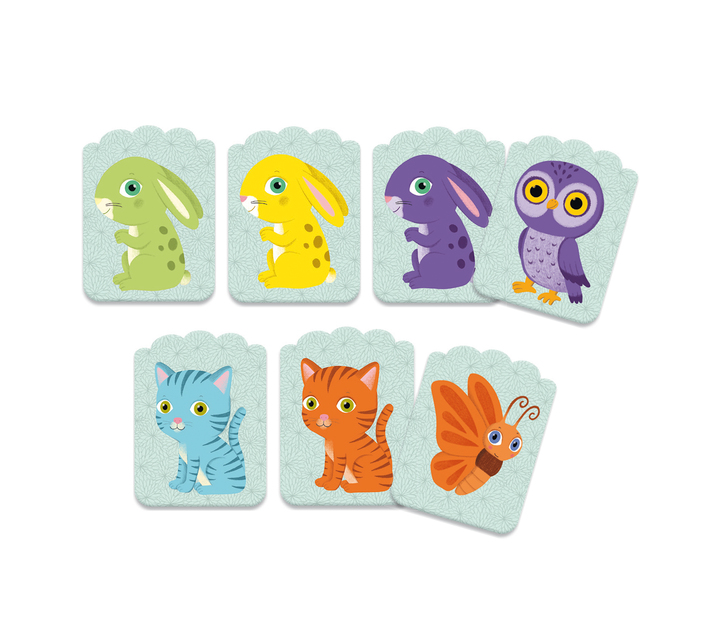 Djeco Card Game for Youngsters- Little Match