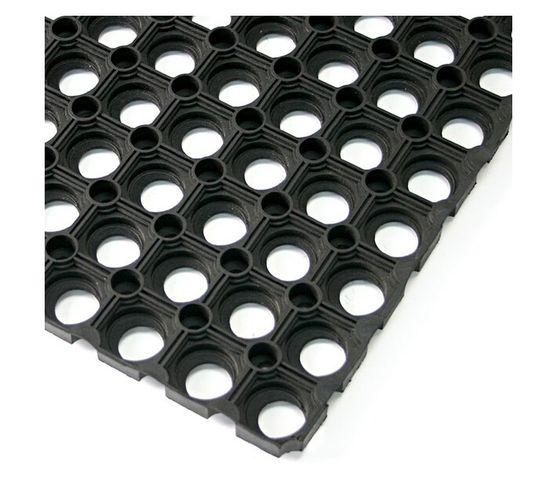 Rubber Ringmat 22mm 1200x800 Open Black