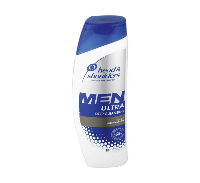 Head & Shoulders Men Hair Shampoo Deep Cleansing (1 x 360ml)
