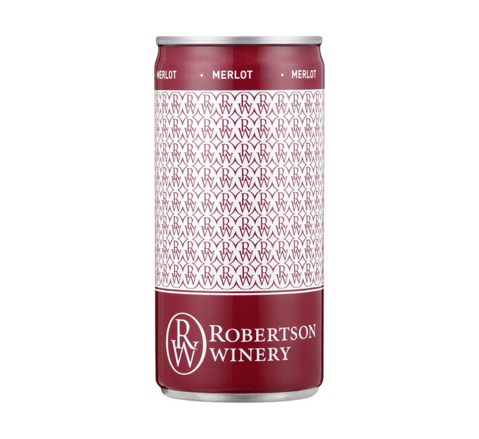 Robertson Single Serve Merlot (24 x 200ml)