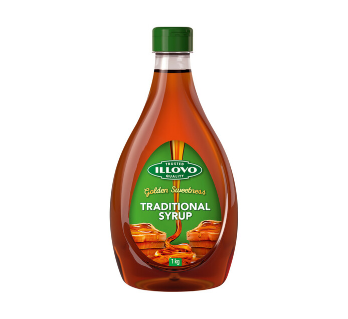 ILLOVO TRADITIONL SYRUP PLAST BOTTLE 1KG