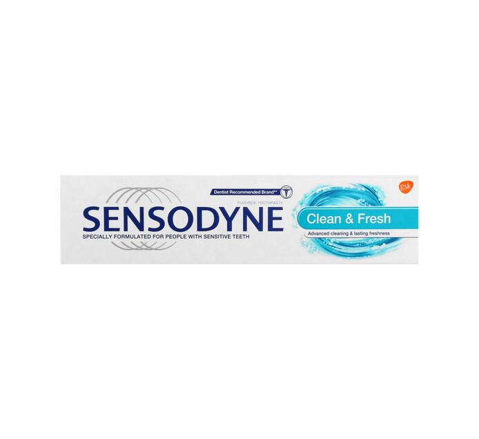 Sensodyne Toothpaste Clean and Fresh (1 x 75ml)