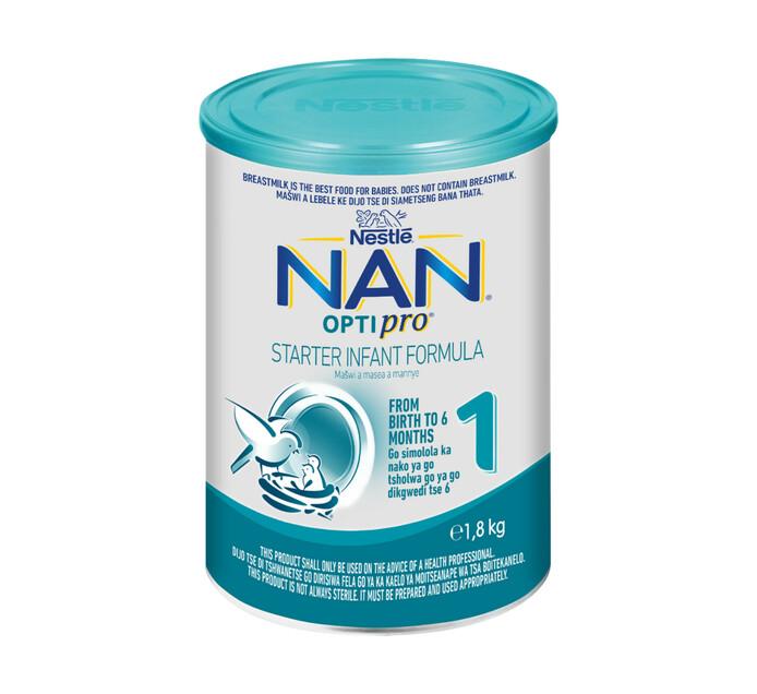 Nestle Nan Infant Milk Formula 1 Start (1 x 1.8kg)