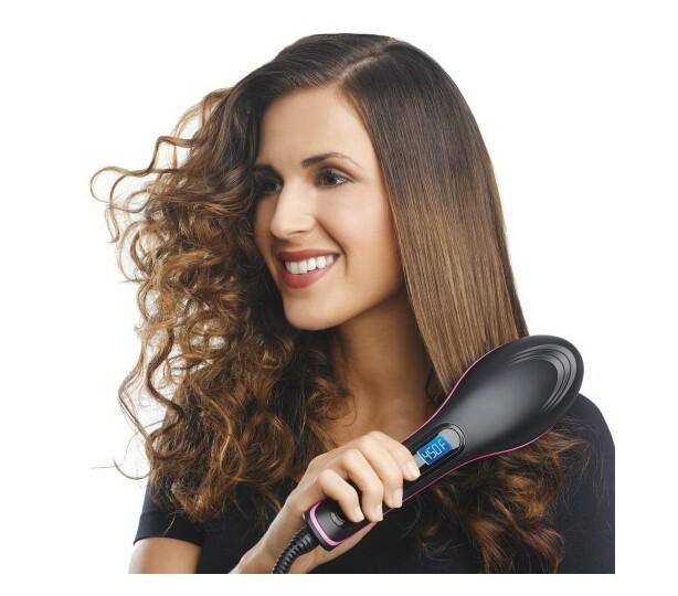 IGIA Ceramic Hair Straightener Brush