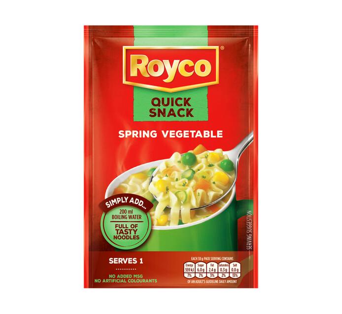 Royco Quick Snack Spring Vegetable (1 x 38g)
