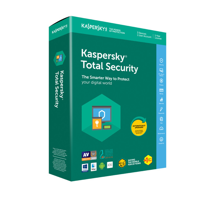 Kaspersky Total Security (4 Devices)