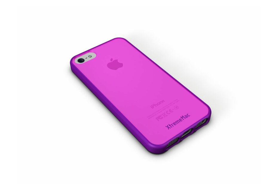 XtremeMac iPhone 5/5S/SE Micro Shield Accent (Purple/Pink)