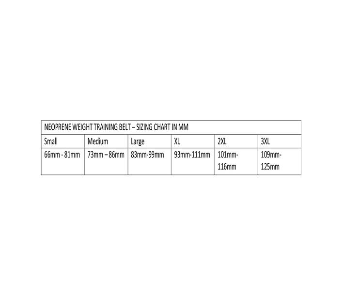 Neoprene Weight Training Belt - 2XL