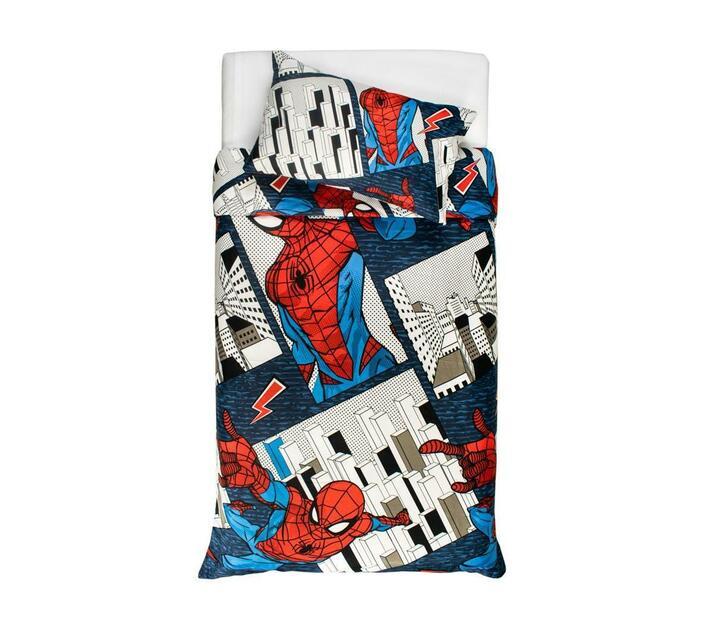 Spiderman Three Qaurter Duvet Cover Set