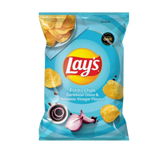 Lay's Potato Chips Caribbean Onion&Balsamic Vineg (48 x 36G)