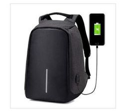 IVT - Anti-theft Travel Backpack Laptop School Bag with USB Charging Port