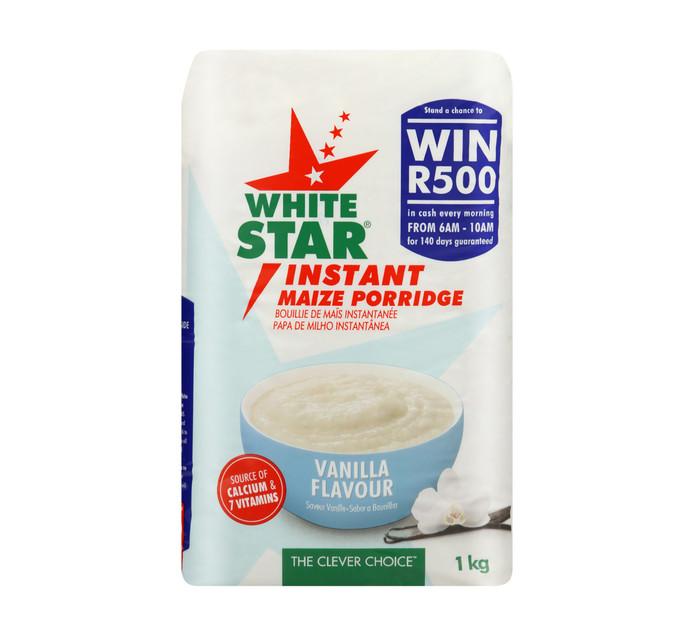 WHITE STAR Instant Maize Vanilla (1 x 1kg)