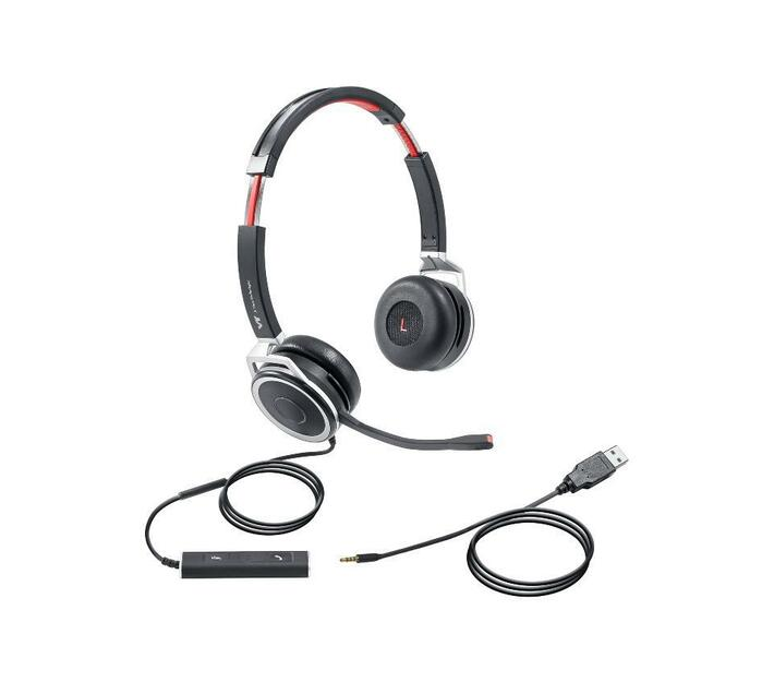 VT X208 Office / Call Centre Headset - USB – Duo