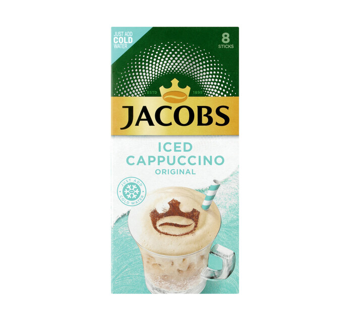 Jacobs Instant Iced Cappuccino Original (8 x 21.3g)