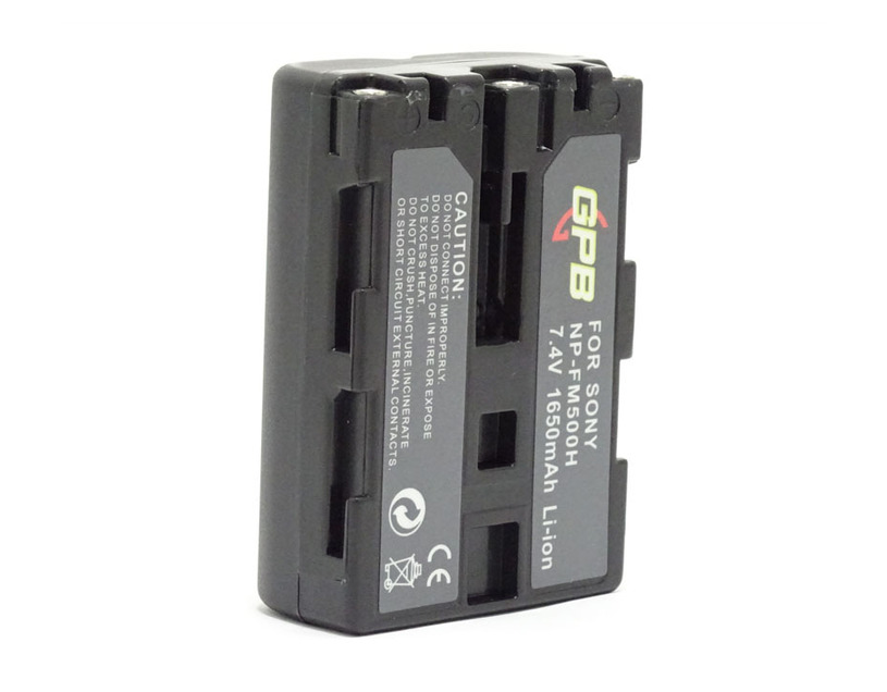 GPB NP-FM500H Battery for Sony Camera