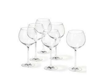 Leonardo Burgundy Glass Red Wine or Gin Goblet Cheers 750 ml Set of 6