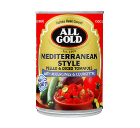 ALL GOLD Med Style Tomato Ratatouille (12 x 410g)