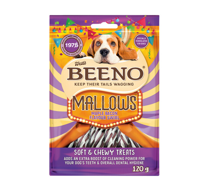 Beeno Moist Treats Rollies Maple Bacon (1 x 120g)