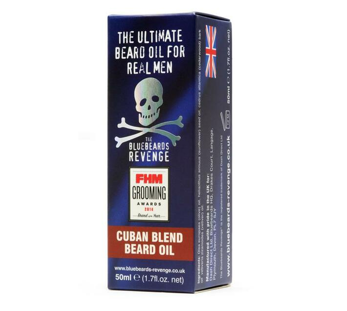 Bluebeards Cuban Blend Beard Oil (50ml)