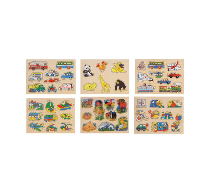 6 piece Peg Puzzle