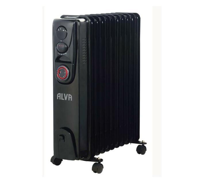 Alva - 11 Fins 2500W Oil Filled Heater - Timer Function