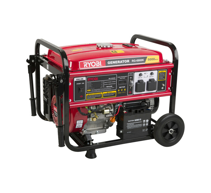 Ryobi 5.5 kVA Petrol Key-Start Generator