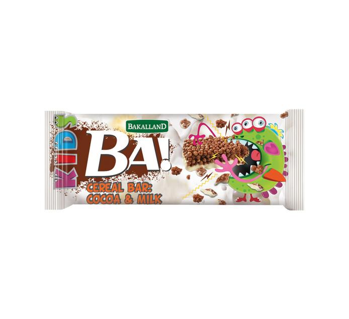 Bakalland Kids Cereal Bar COCOA & MILK (1 X 25G)