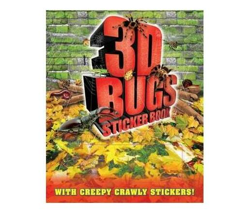 3D Bugs Sticker Book