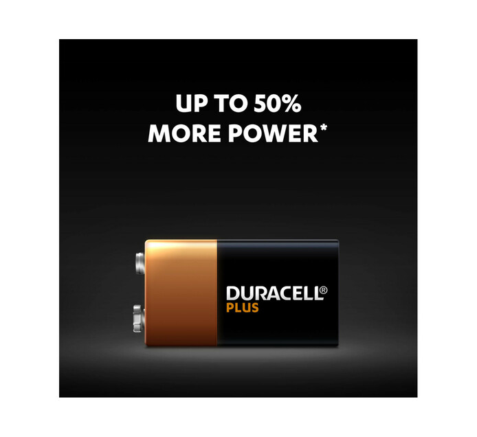 Duracell Plus Power 9 V Single