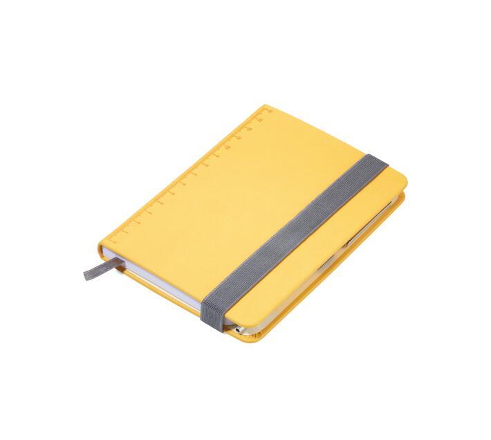 Troika Notepad A6 with Slim Multitasking Ballpoint Pen Yellow