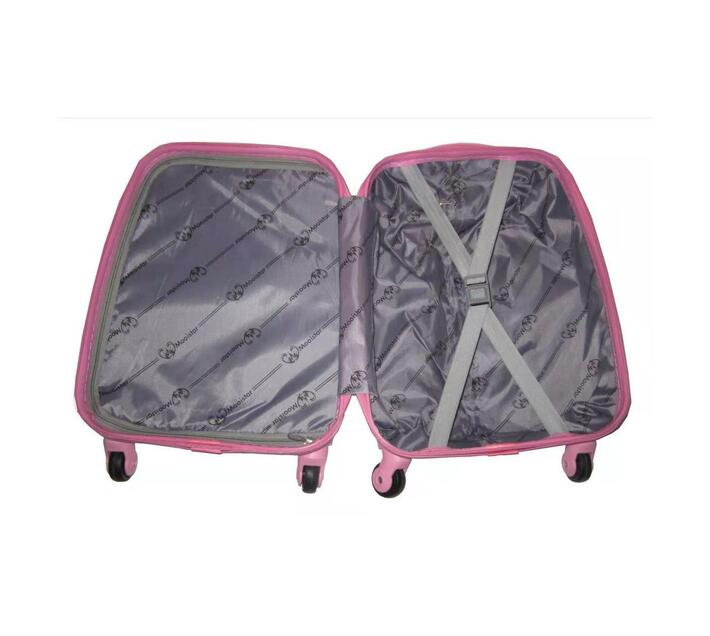 Kiddies Cartoon Hand Luggage Suitcase - Happy