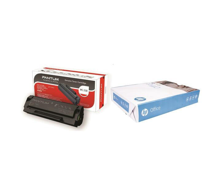 Pantum PC210 Toner Cartridge and Paper Bundle