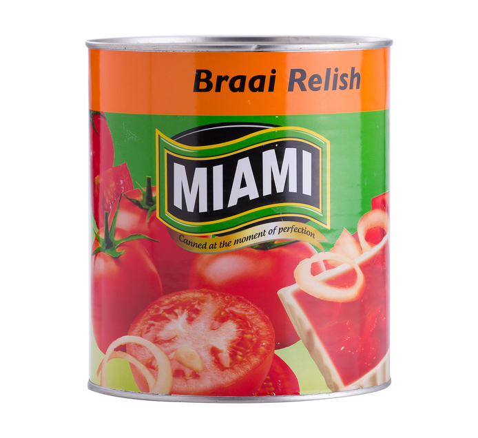 Miami Braai Relish (1 x 3kg)