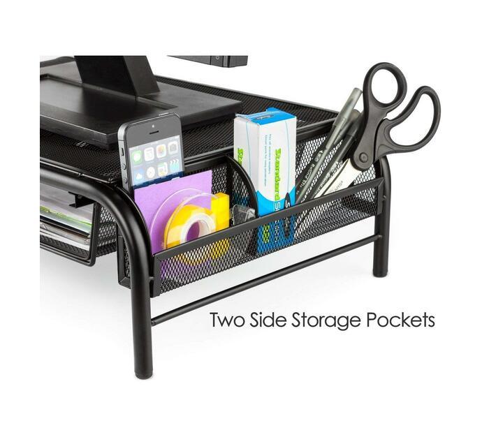 Ntech Mesh Monitor Laptop Stand Riser Desk