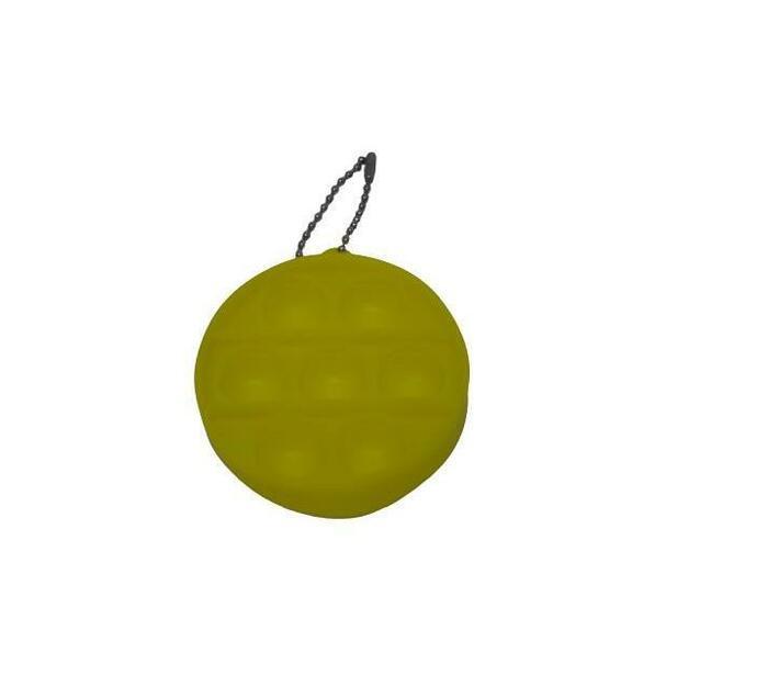 Poppet Fidget Toy (Yellow Round)