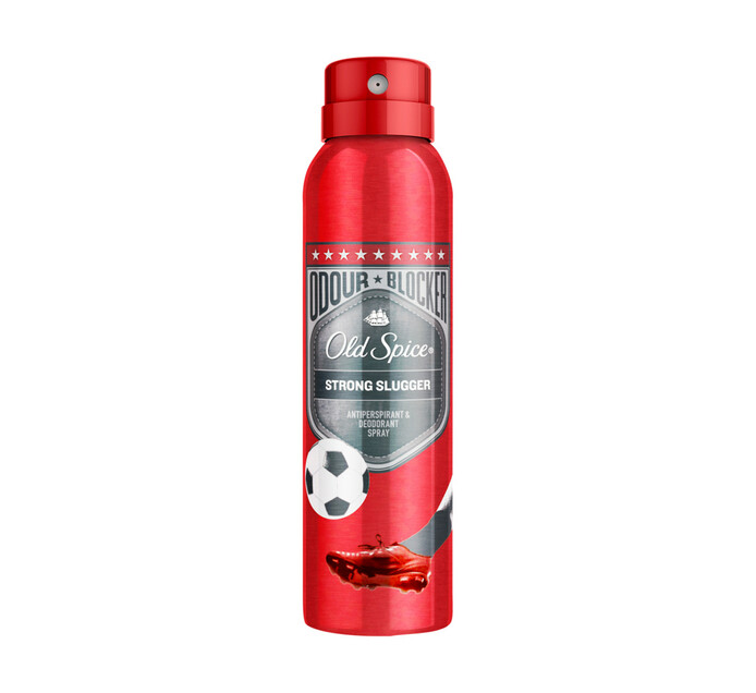 OLD SPICE DEO SPRAY 150M, STRONG SLUGGER