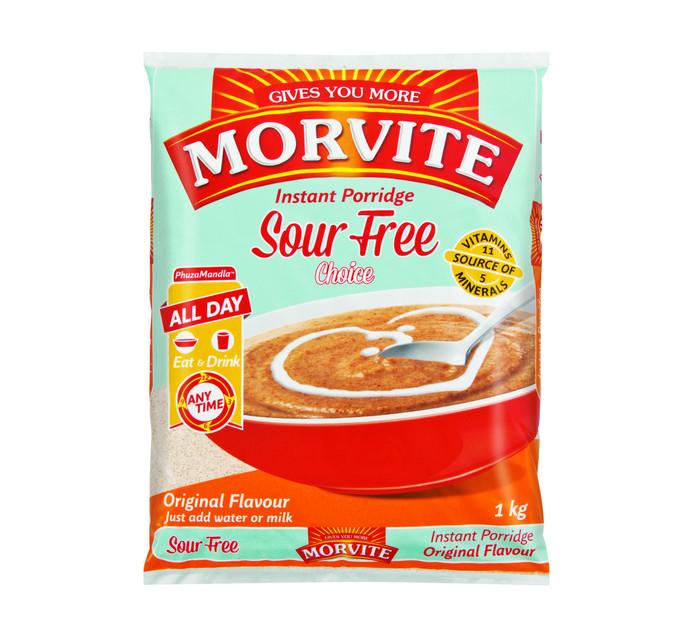 Morvite Choice Instant Porridge Original (1 x 1kg)