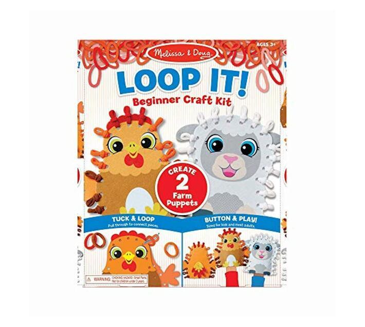 Loop It! Farm Puppets