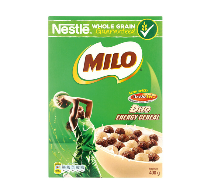 Nestle Milo Cereal Duo Wholegrain (1 x 400g)