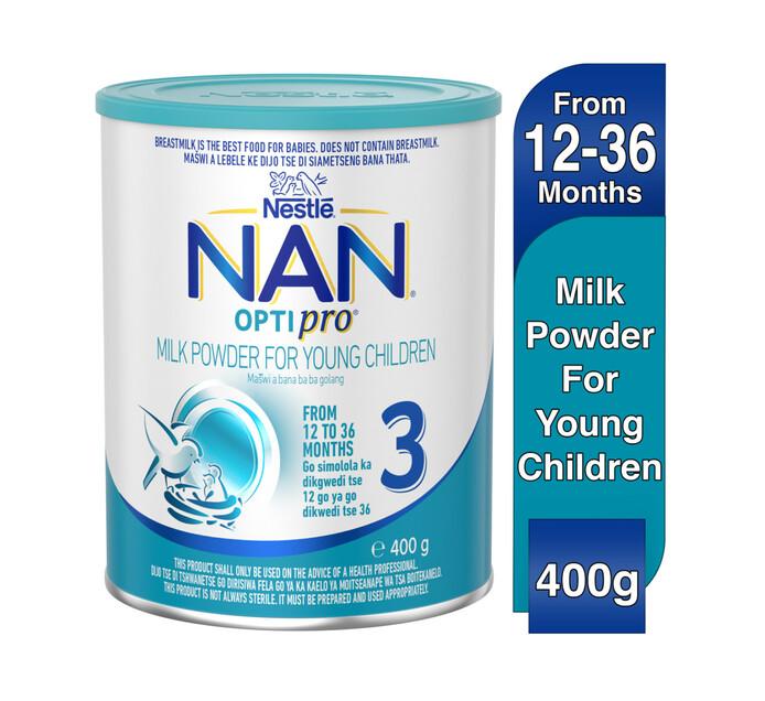 Nestle Nan Infant Milk Formula 3 Grow (1 x 400g)