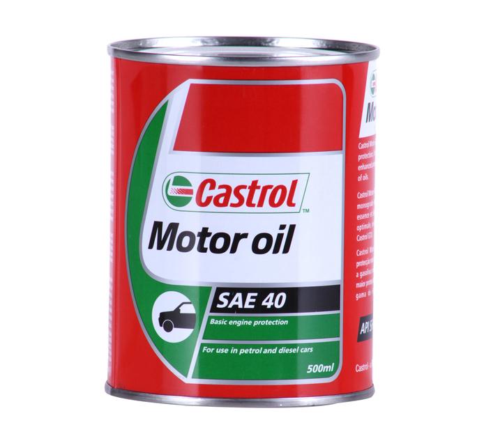 Castrol 500ml Motor Oil SAE40
