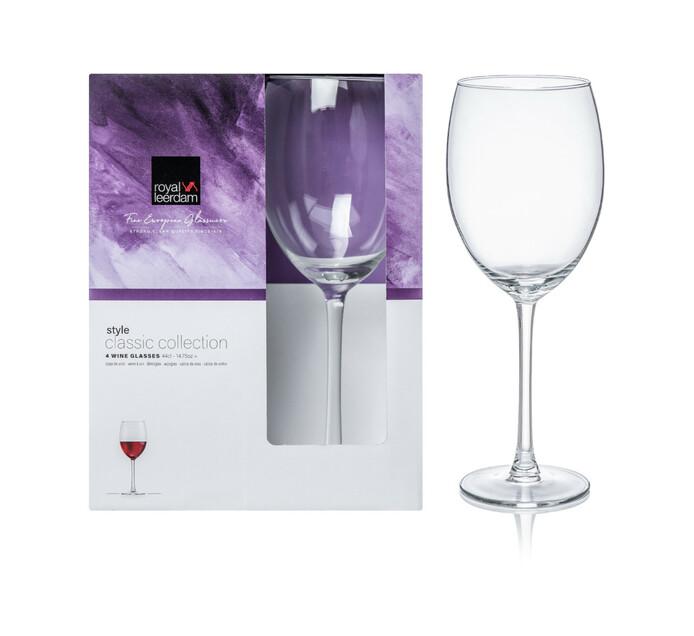Royal Leerdam 440 ml Style Wine Glasses 4-Pack