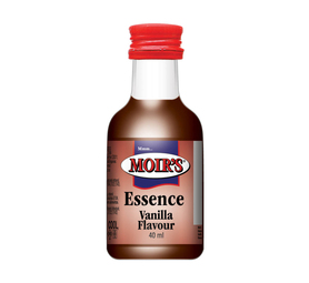MOIRS Flavouring & Essence Vanilla (20 x 40ml)