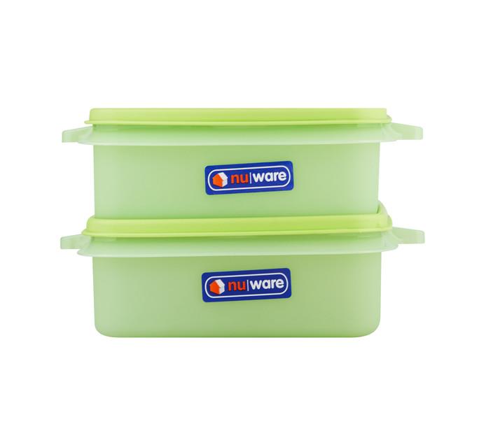 Nu Ware 2-Pack Superkids Munch Box